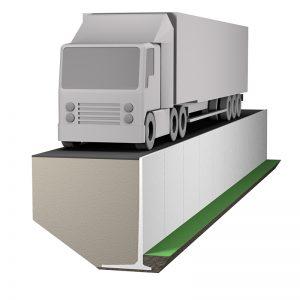 stödmurar 20 kN/m2 lämpar sig för tung fordonstrafik, normala fordon i gatu- och närtrafik.
